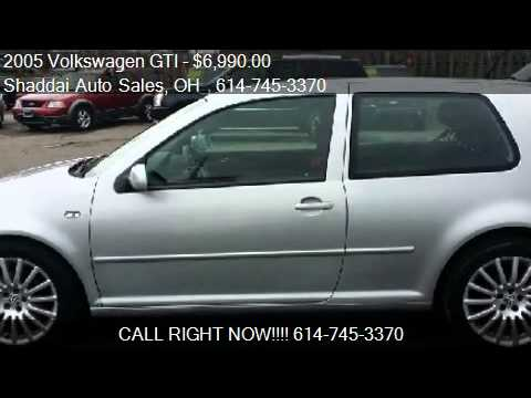 2005 Volkswagen GTI 1.8T for sale in Whitehall, OH 43213 at