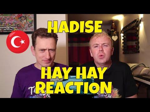 HADISE - HAY HAY - REACTION - Turkish Music