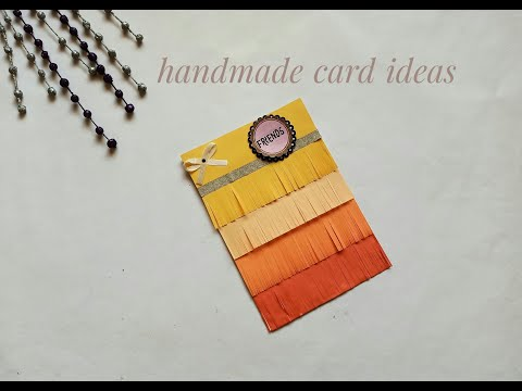 DIY: Friendship Day Card/ Handmade card ideas/ Paper crafts