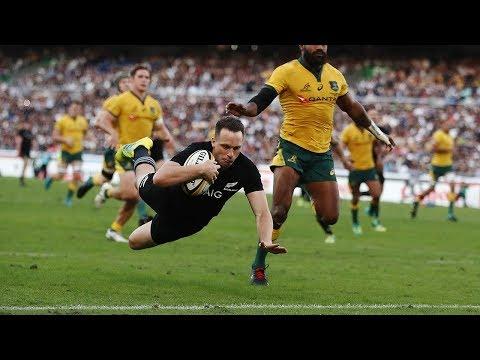 HIGHLIGHTS: All Blacks v Australia Third Test – 2018
