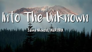 Idina Menzel, AURORA - Into The Unknown OST. Frozen 2 (Lyrics) | Terjemahan Indonesia