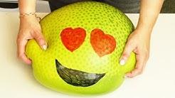 DIY GIGANTISCHER Emoji Antistressball 😍 Lustiger Orbeez Versuch mit Eva & Kathi | Fun Video