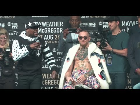 Thumbnail: Floyd Mayweather Full Remarks at Mayweather vs McGregor World Tour New York