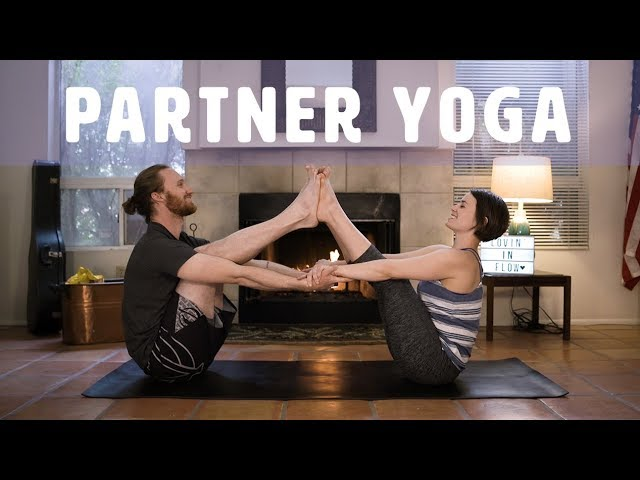 Super Fun Partner Yoga Poses Yoga For Couples Or Friends Youtube