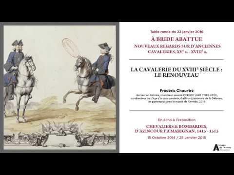 Table ronde du 22/01/2016. La cavalerie du XVIIIe siècle : le renouveau