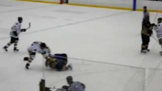 Michigan Tech Hockey Fight