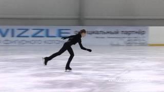 Флип (3 оборота) в исполнении Аделины Сотниковой