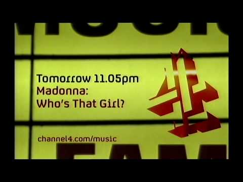 UK Music Hall Of Fame 2005 Madonna   Whos That Girl