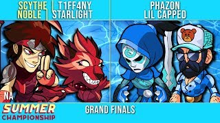 T1FF4NY & Starlight vs Phazon & Lil Capped - Grand Finals - Summer Championship NA