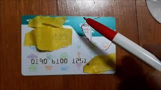 기타 삐꾸 피크 만들기 신용카드로 만든 피크,삐꾸로 치…