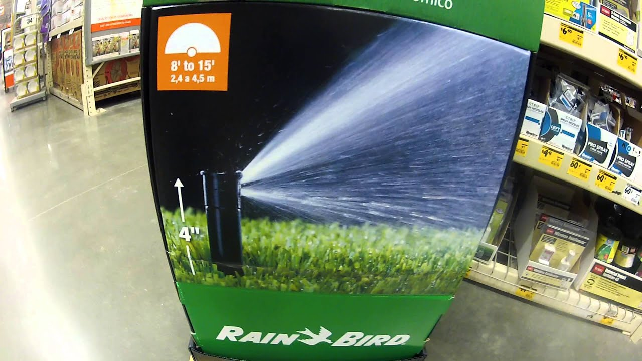 Rain Bird Dual Spray Sprinkler 15 Foot 1800 Dseries At Home Depot