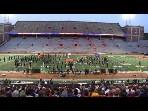 2017-10-21 Grayslake, IL North HS Marching Band @ Illinois University Marching Band Competition