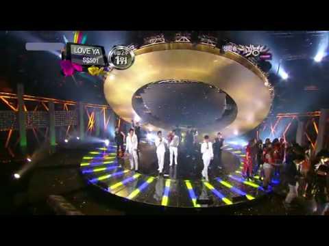 """SS501 """"Love Ya"""" 1st Win + Encore On June 11, 2010"""
