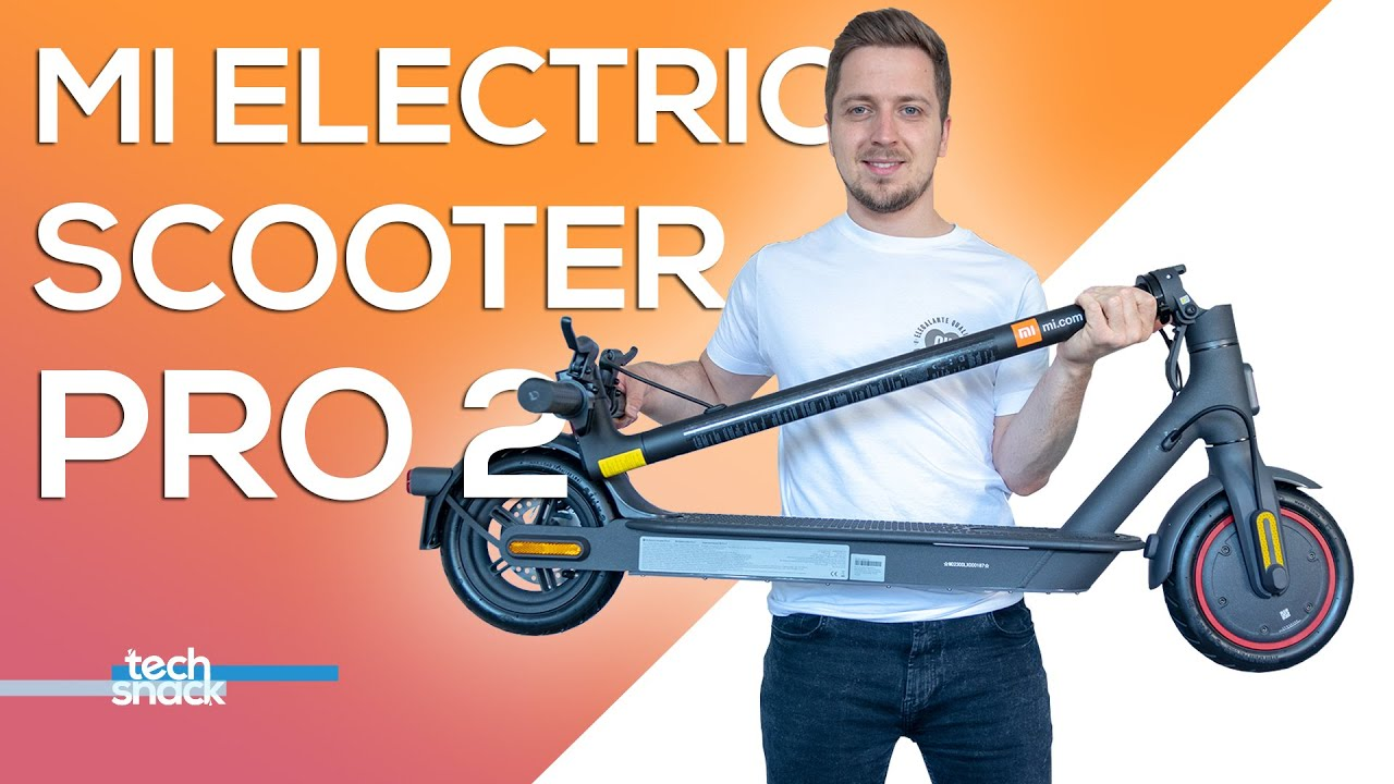 Xiaomi Mi Electric Scooter Pro 2 Unboxing Und Alle Informationen Youtube