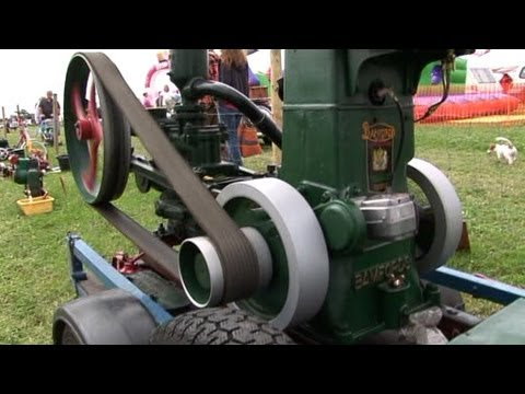 VINTAGE WORKING RALLY 2011 (PART 28) OLD STATIONARY ENGINES