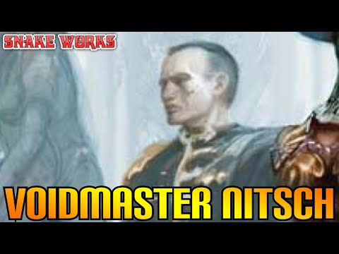 Voidsmaster Nitsch -  Rogue trader -  Warhammer 40k lore - Space navy!