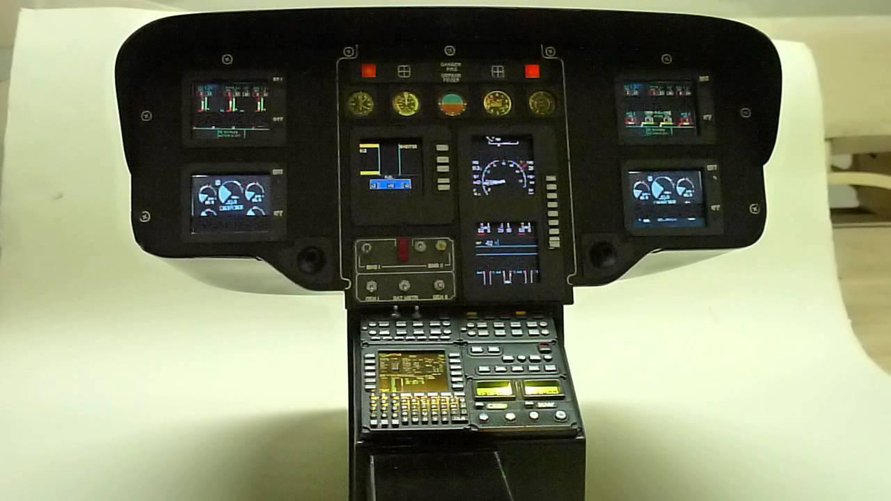 Eurocopter EC-135 Cockpit Scale 1:3