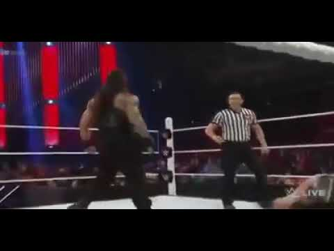 Angry Moment of Roman Reigns