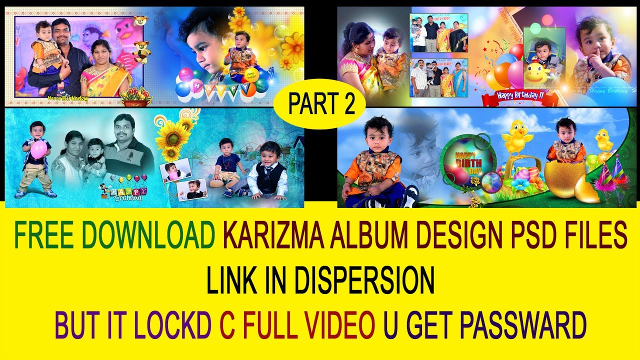 BIRTHDAY FREE download Karizma Canvera Album PSD FILES LINK IN  dispersion[ss free psd]