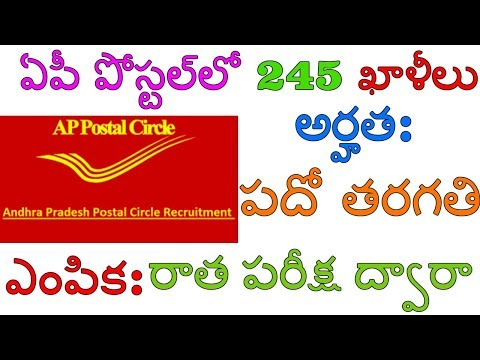 Andhra Pradesh Postal Circle Recruitment 2018 ||Post Name –Postman,Mailguard||By IndiaJobs Careers