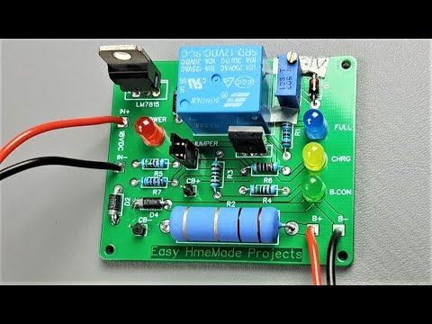 How to Make Automatic 12V Lead Acid Battery Charger