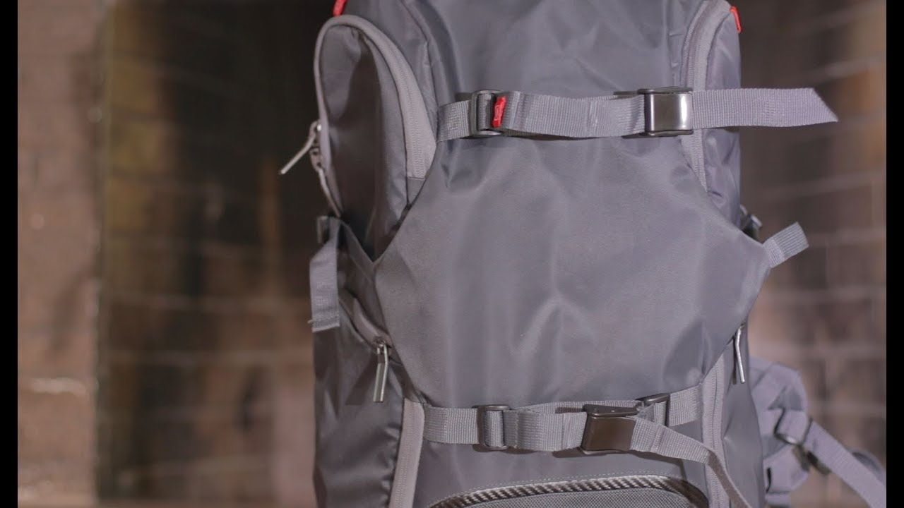 ed94702ed0 Manfrotto Advanced Travel Backpack Review - YouTube