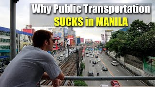 Why Public Transportation Sucks in Manila