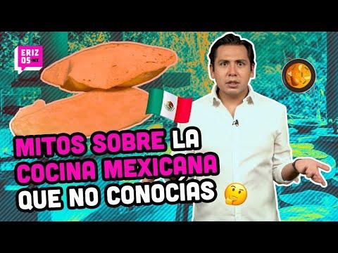 Mitos de la COMIDA MEXICANA que seguro no conocías | Erizos