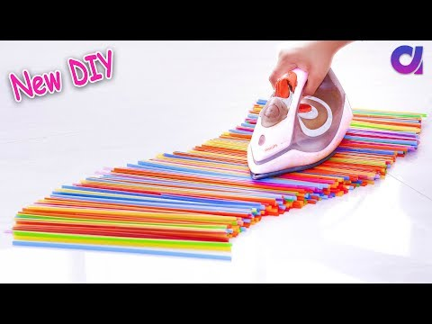 10 New drinking straw reuse ideas | Best out of waste | Artkala 338