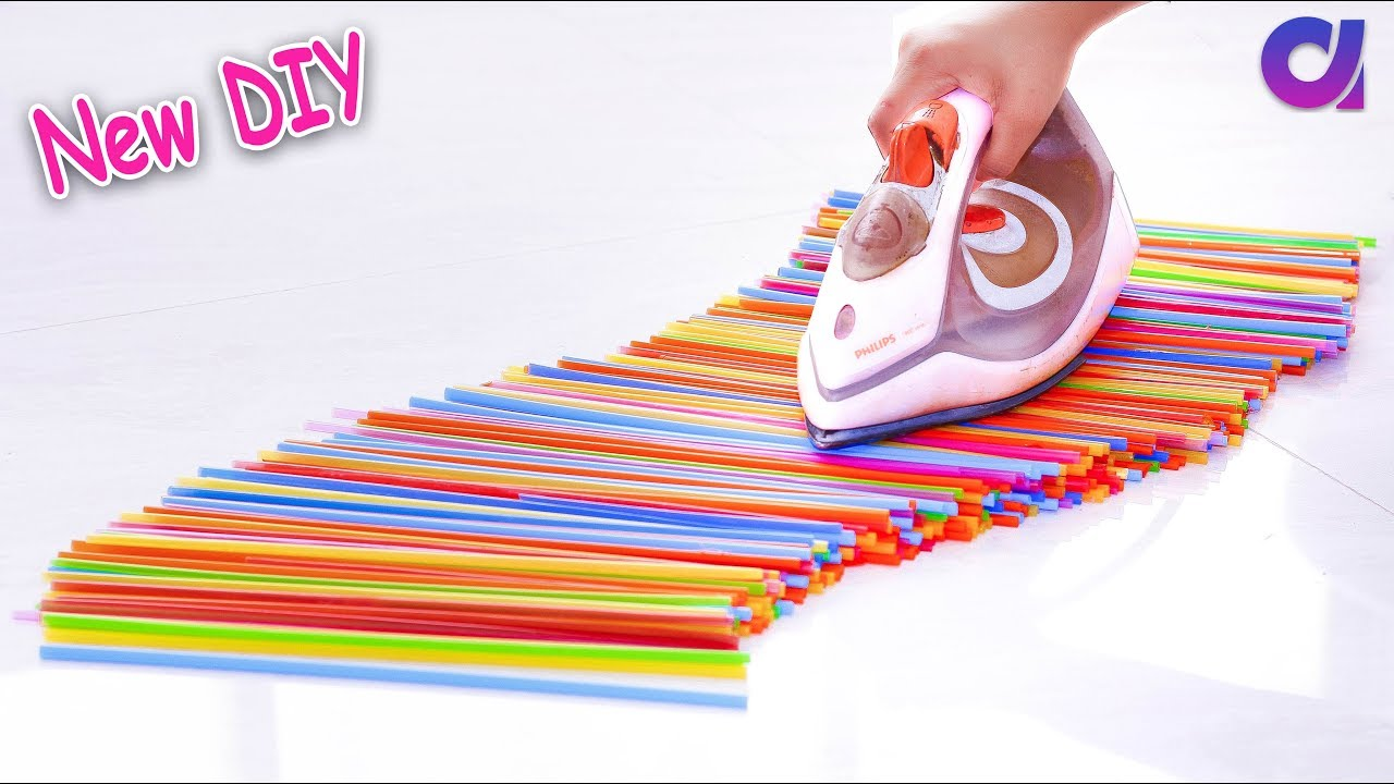 10 new drinking straw reuse ideas best out of waste for Best out of waste from newspaper step by step