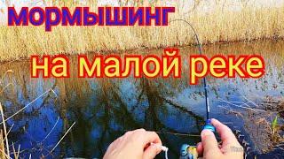 Весенний мормышинг на малой реке рыбалка 1мая gammarus 0 1 0 6