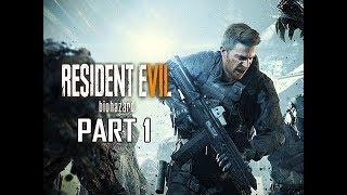 Resident Evil 7 Not A Hero Walkthrough Part 1 - Chris Redfield (Let's Play Commentary)