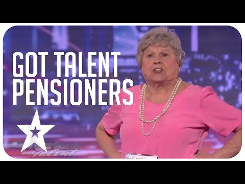 Awesome & inspirational Got Talent Pensioners from around the world!