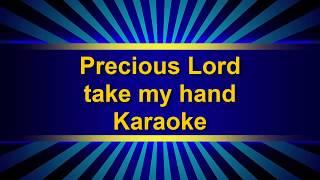 Precious Lord, take my hand country gospel karaoke