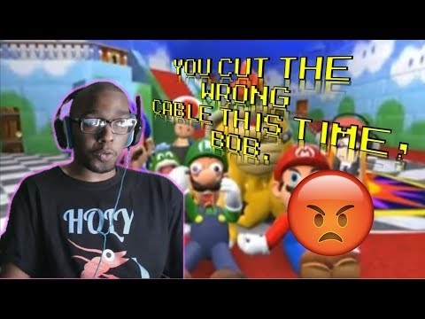 SMG4: Mario and The Diss Track! REACTION!!!
