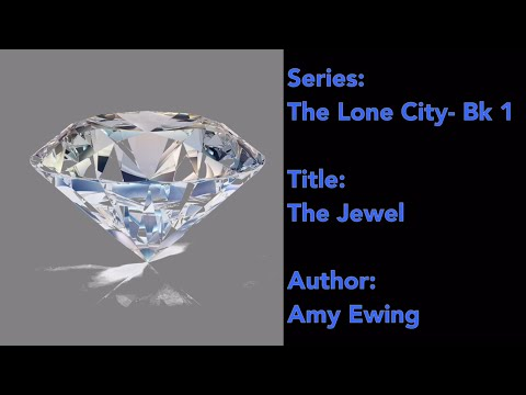 Book Corner Ep.8: The Lone City Series: Book 1- The Jewel| J. Angel Grant