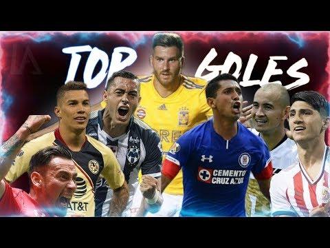 TOP GOLES LIGA MX 2018