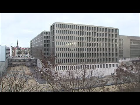 NACHRICHTENDIENST: Kanzlerin Merkel Eröffnet Neue BND-Zentrale In Berlin