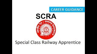 information of SCRA EXAM Special Class Railway Apprentice Examination in Hindi