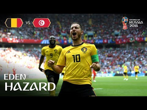 Eden HAZARD Goal 2 - Belgium v Tunisia - MATCH 29