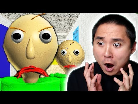 MY SCARY SCHOOL TEACHER!! (Baldi's Basics)