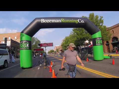 2017 Bozeman Marathon Finish