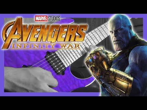 Avengers: Infinity War  |  Trailer #1 Guitar Cover (w/tabs)