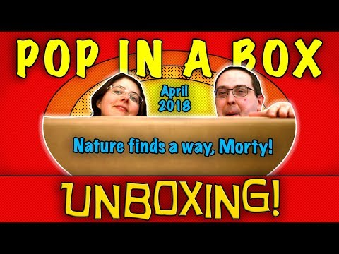 UNBOXING! Pop in a Box April 2018 (12 Pops) - Nature Finds a Way, Morty! - #Funko