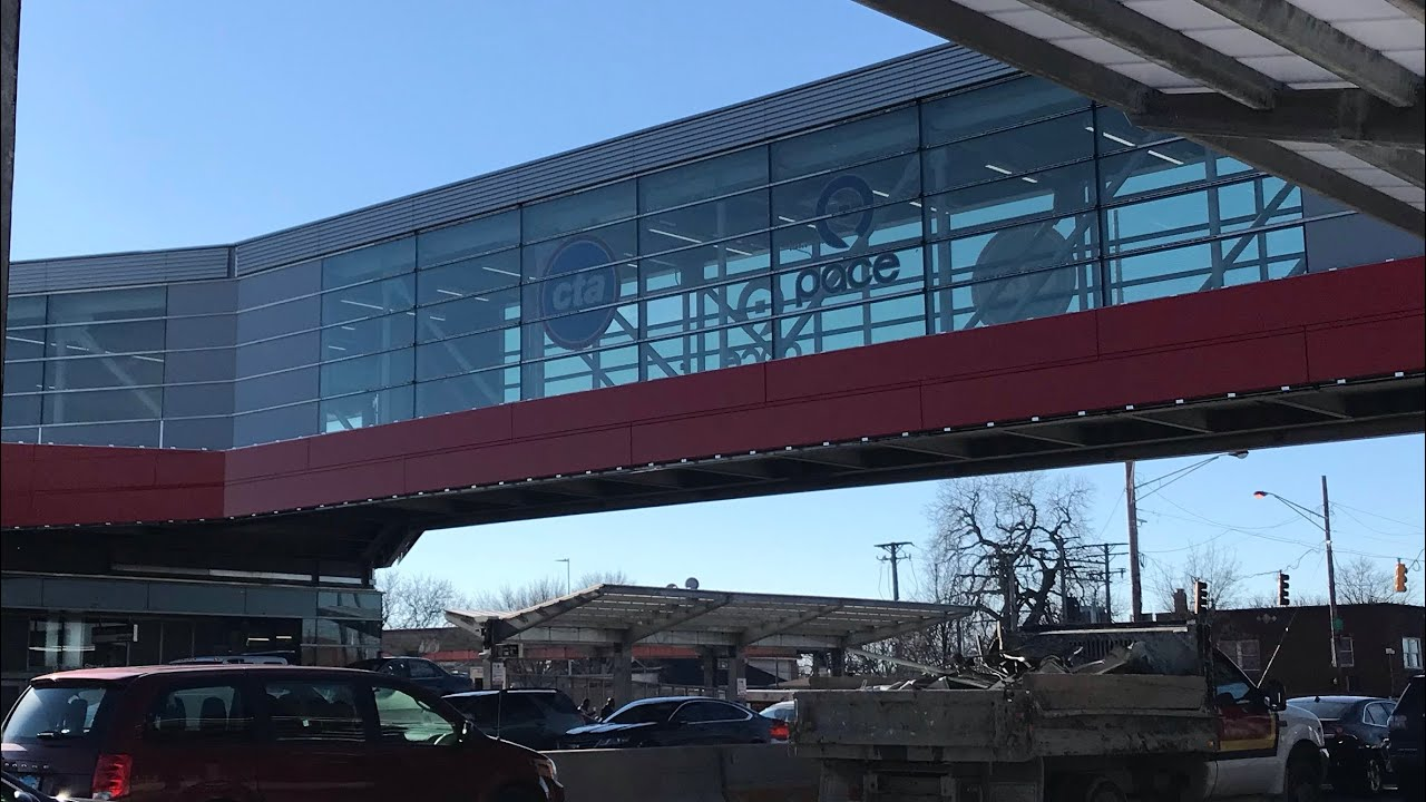 North Terminal of 95th Station Opens, Emanuel Touts His