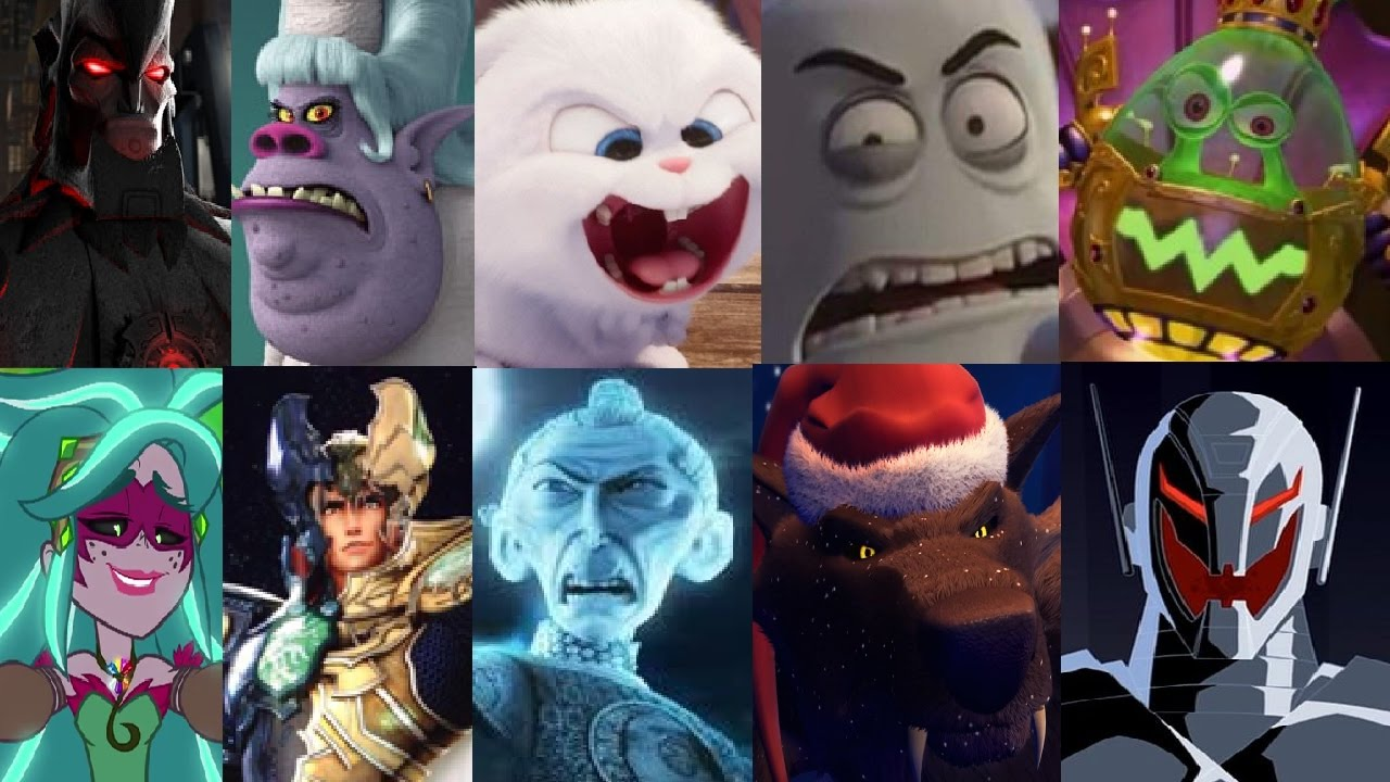 defeats of my favorite animated non disney movies villains