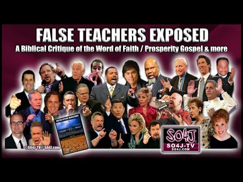 FALSE TEACHERS EXPOSED: Word of Faith/Prosperity Gospel | Justin Peters/SO4J-TV