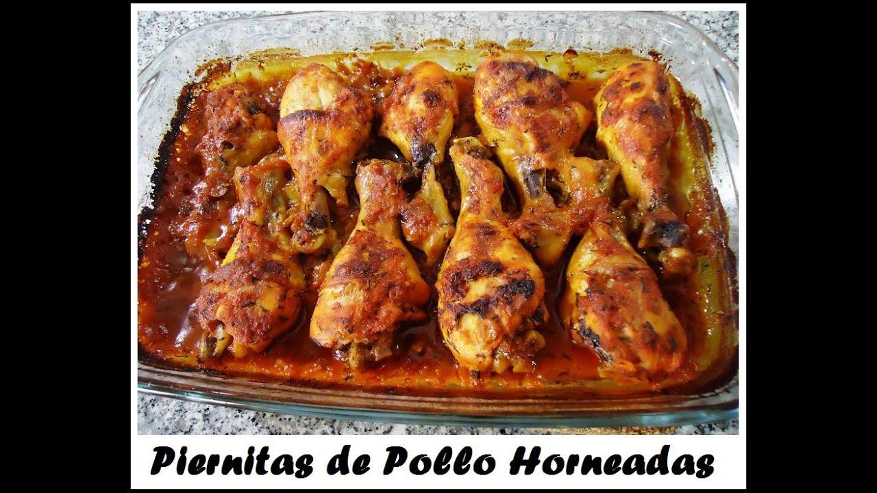 Piernitas De Pollo Horneadas Recetita Deliciosa Y Facilita Youtube