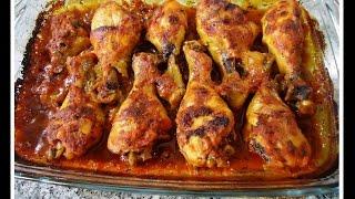 PIERNITAS DE POLLO HORNEADAS, recetita deliciosa y facilita thumbnail