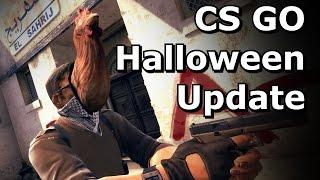 CS GO update - Masks and Zombie Chicken